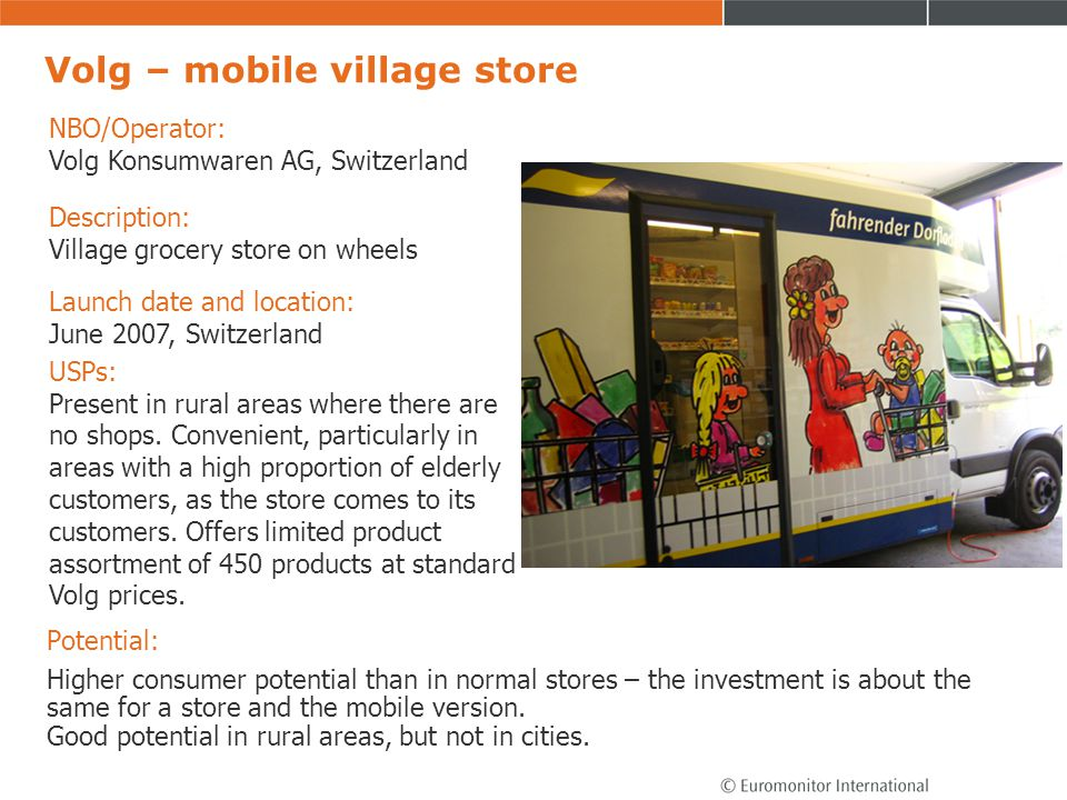 Volg – mobile village store