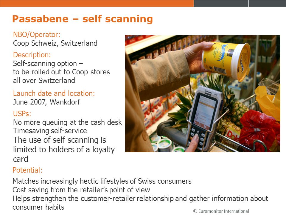 Passabene – self scanning