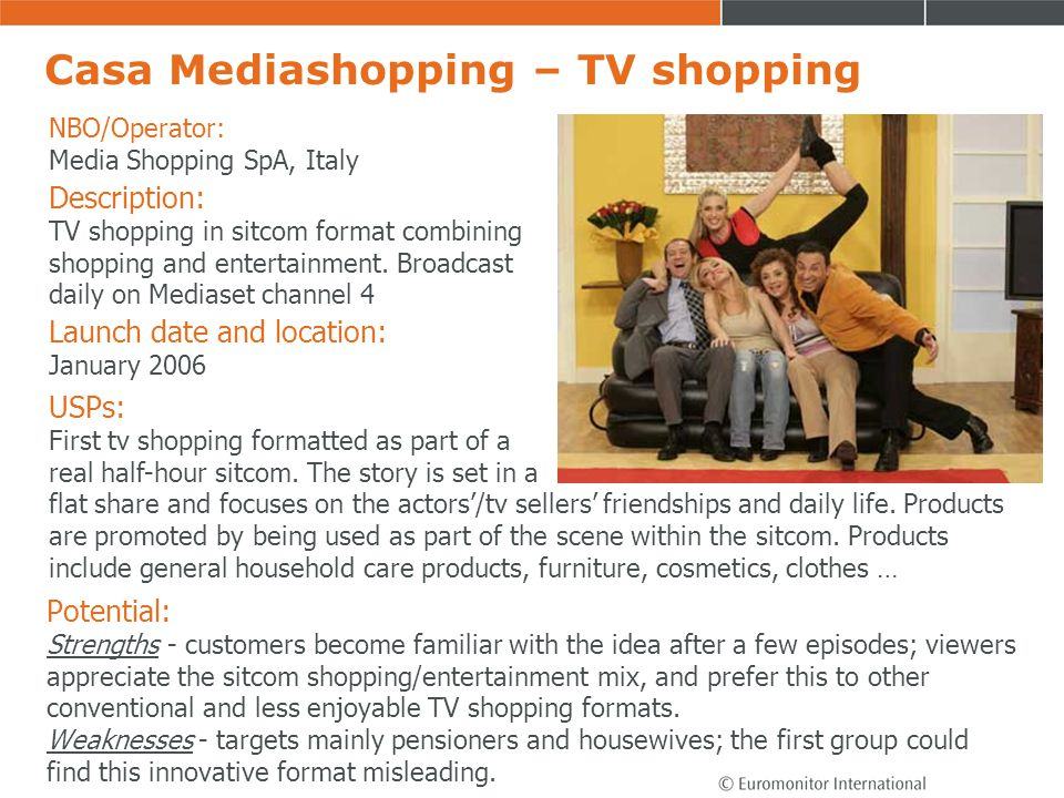Casa Mediashopping – TV shopping