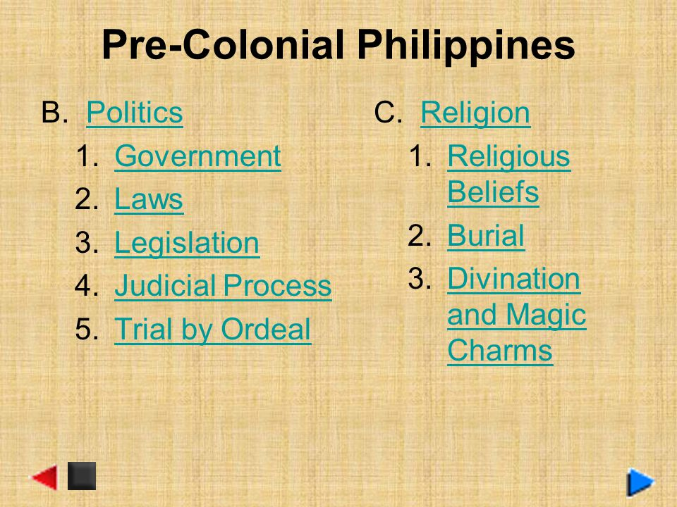 Pre-Colonial Philippines