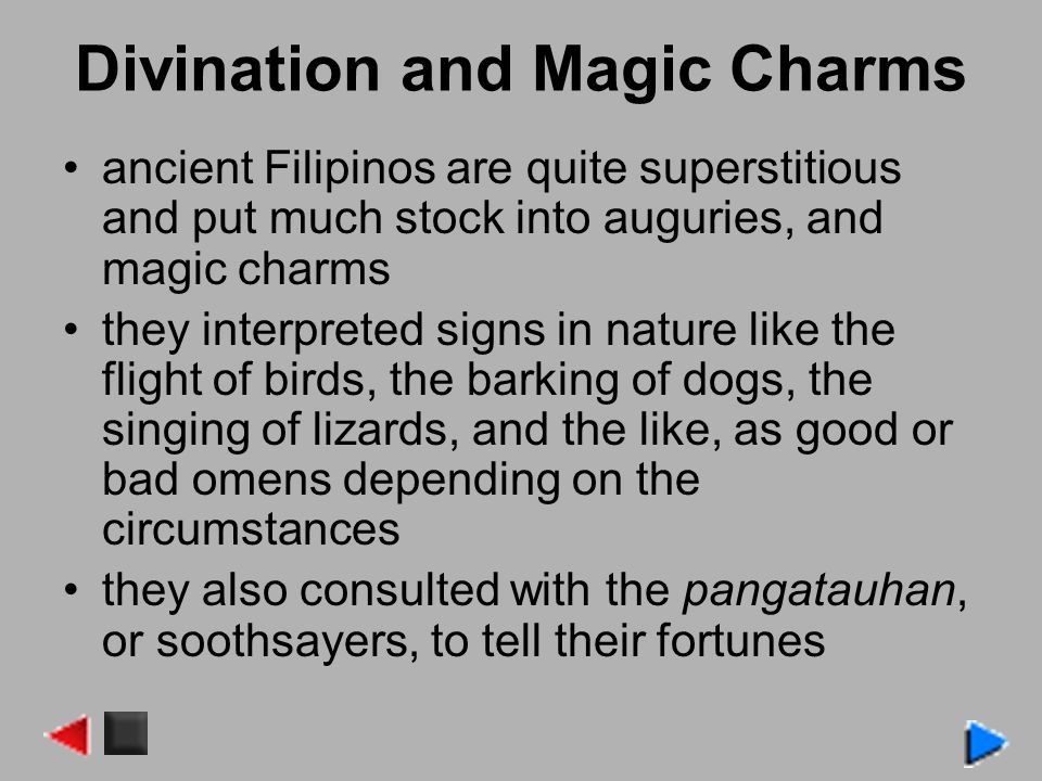 Divination and Magic Charms