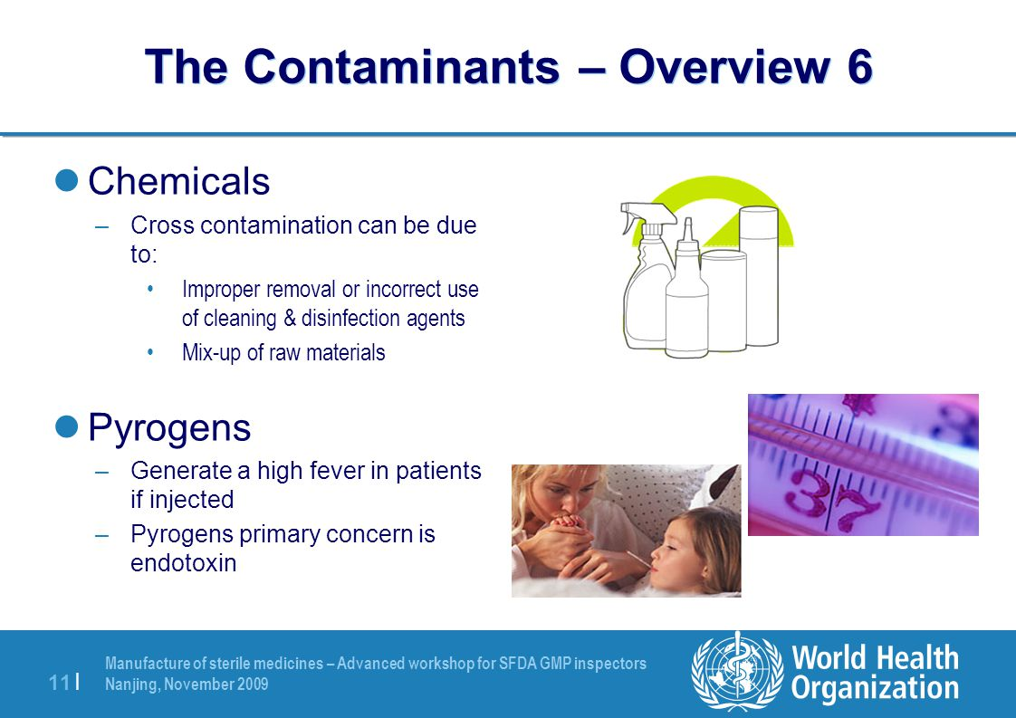 The Contaminants – Overview 6