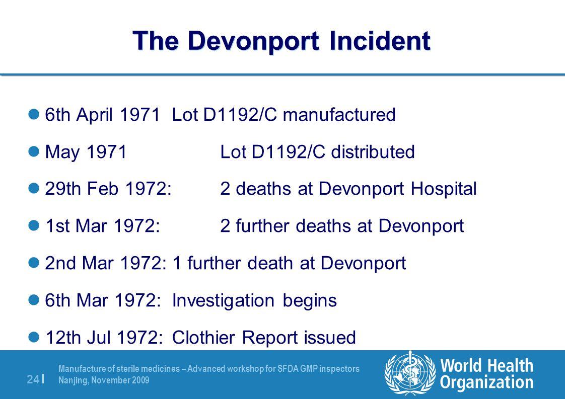 The Devonport Incident