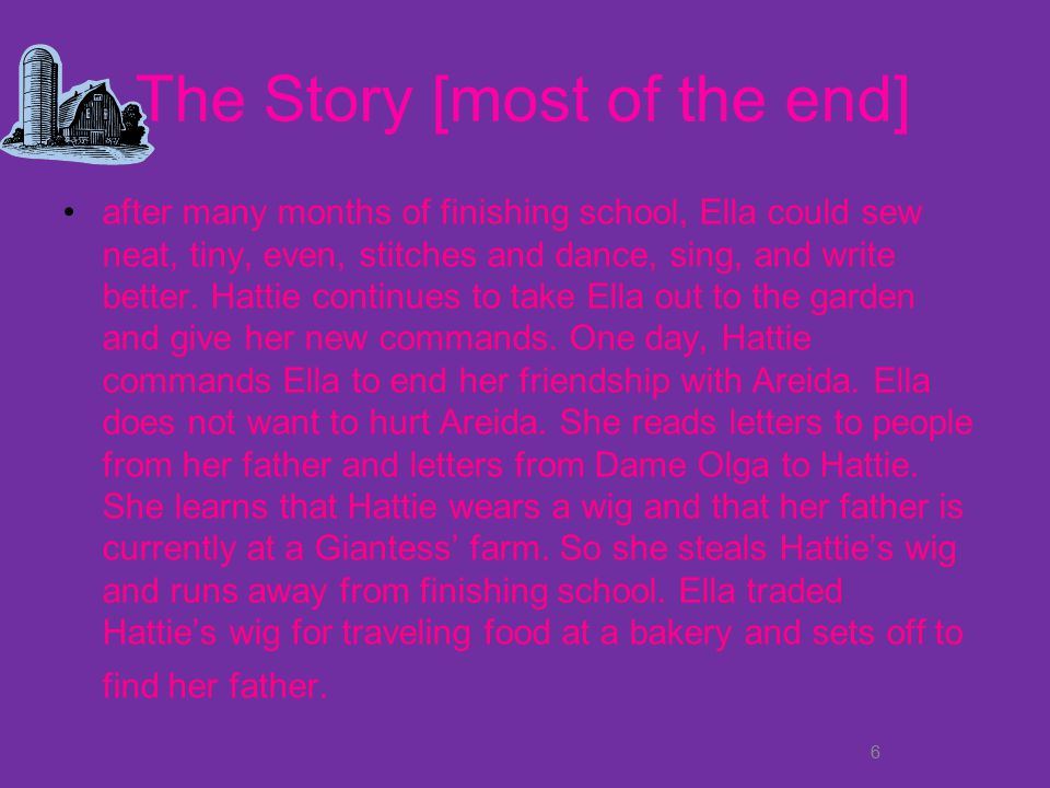 The Story [most of the end]