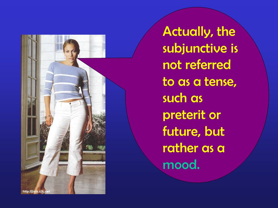 Actually, the subjunctive is not referred to as a tense, such as preterit or future, but rather as a mood.