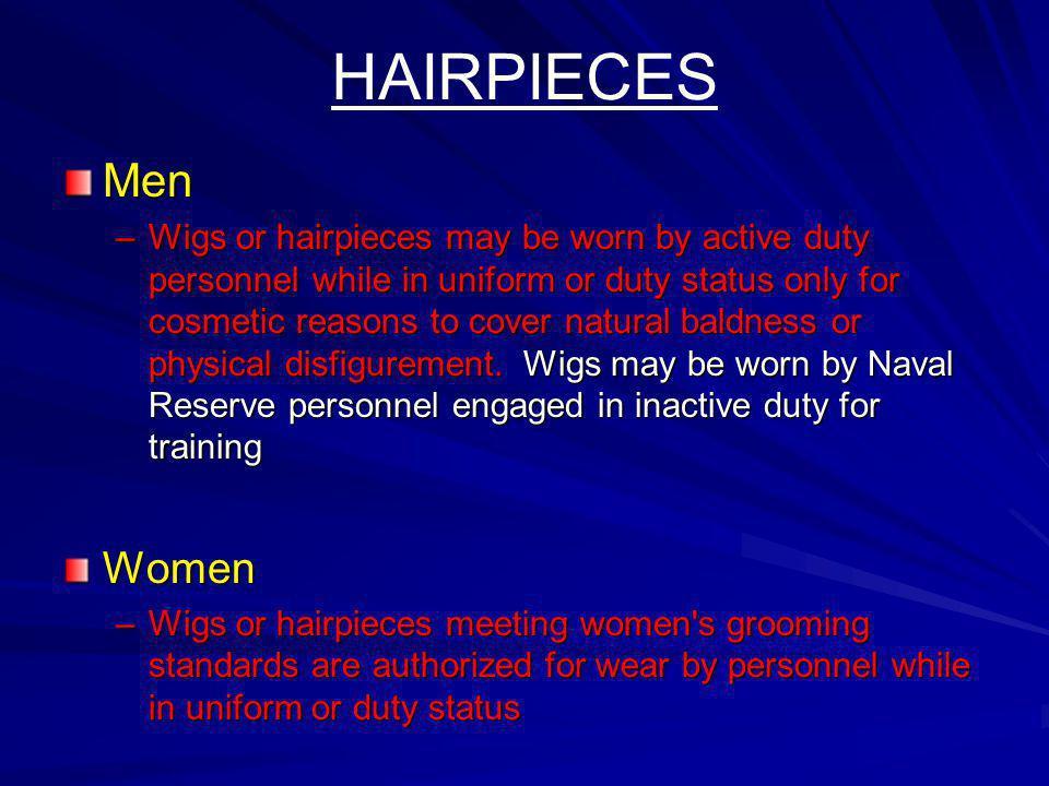HAIRPIECES Men.