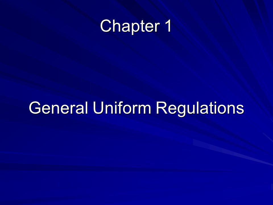 General Uniform Regulations