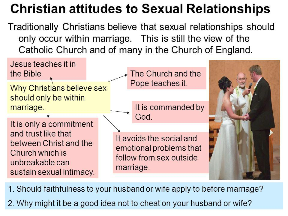 Christian views on relationships