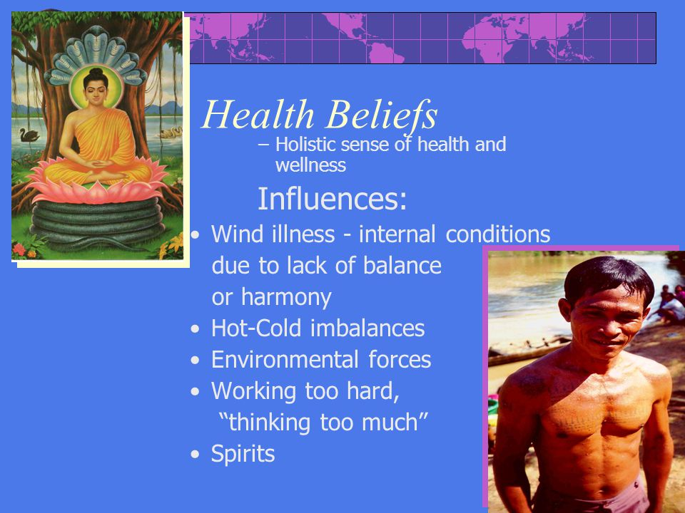 Health Beliefs Influences: Wind illness - internal conditions