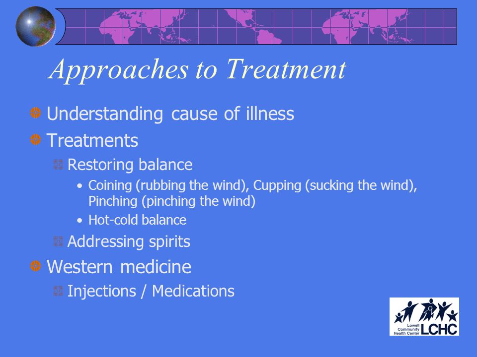 Approaches to Treatment