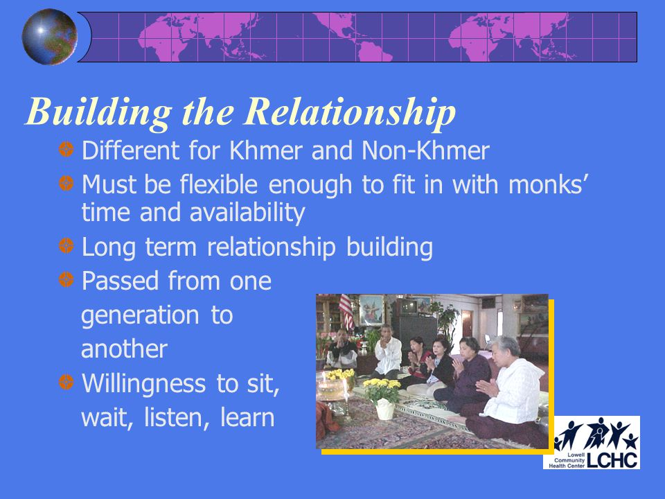Building the Relationship