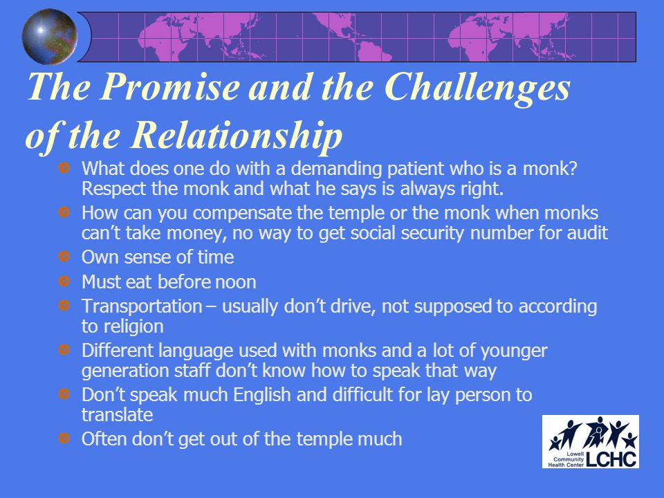 The Promise and the Challenges of the Relationship