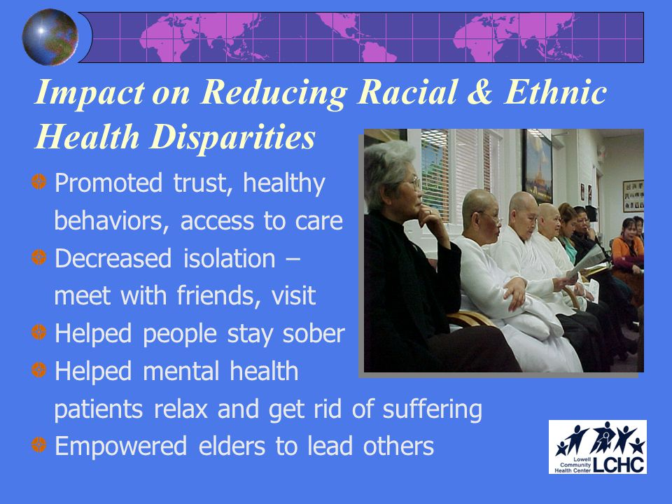 Impact on Reducing Racial & Ethnic Health Disparities