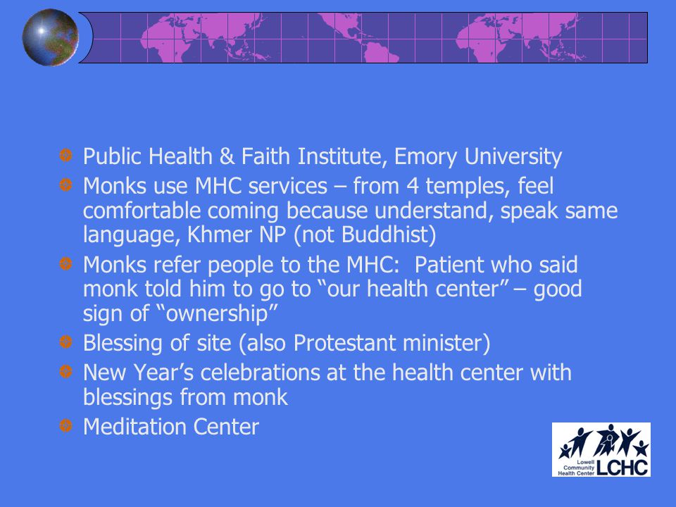 Public Health & Faith Institute, Emory University