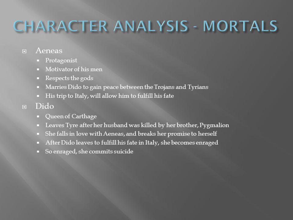 CHARACTER ANALYSIS - MORTALS
