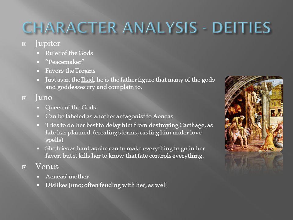 CHARACTER ANALYSIS - DEITIES