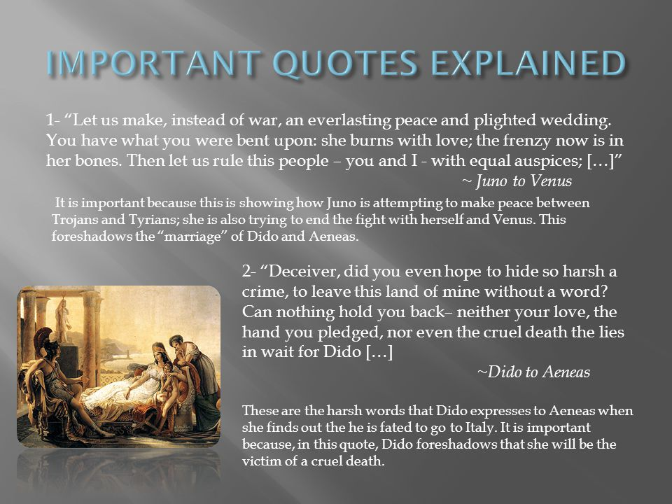 IMPORTANT QUOTES EXPLAINED