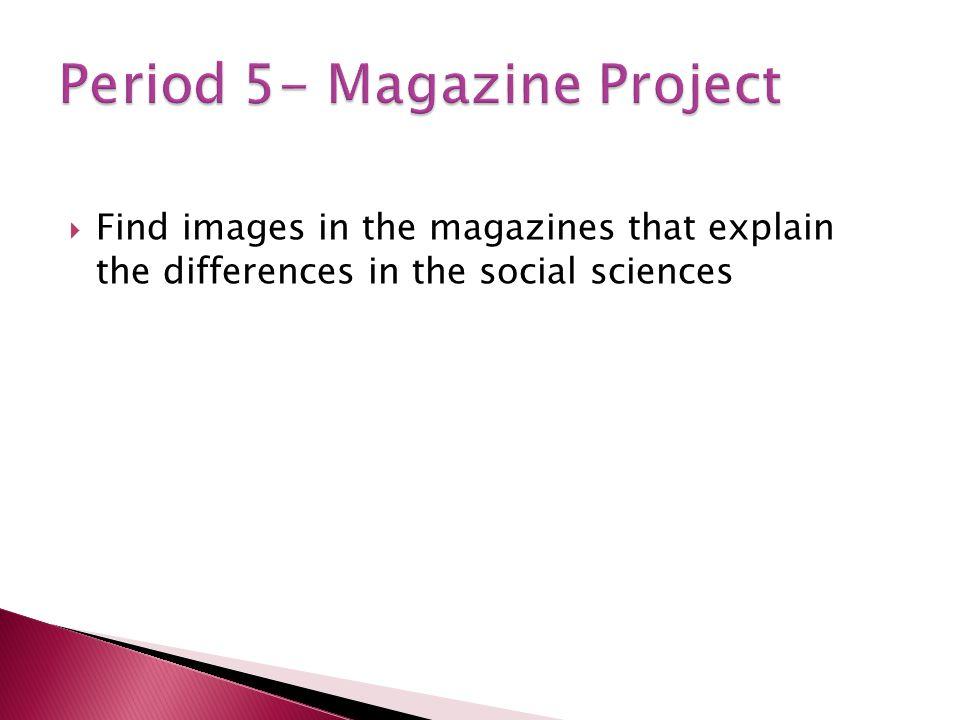 Period 5- Magazine Project