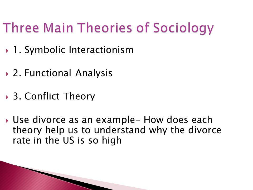 Three Main Theories of Sociology
