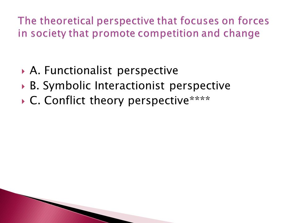 Difference Between Functionalism and Conflict Theory