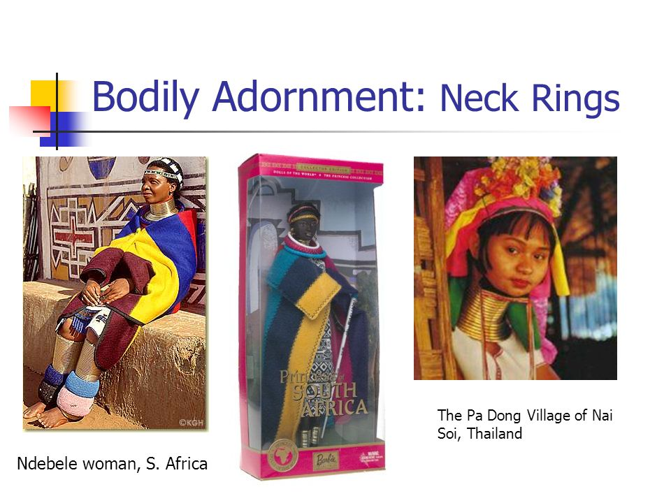 Bodily Adornment: Neck Rings