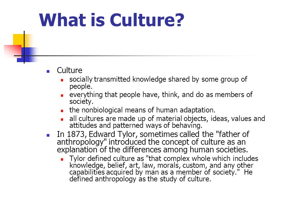 What is Culture Culture