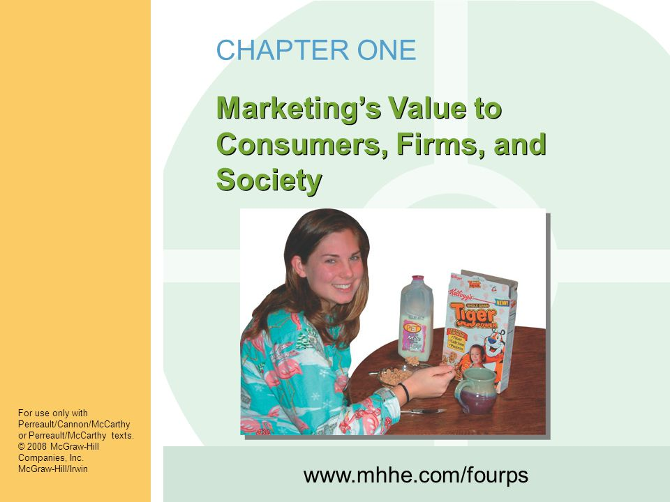 Marketing's Value to Consumers, Firms, and Society