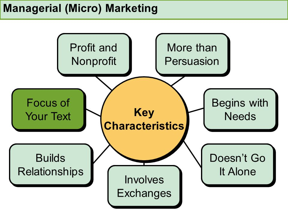 Managerial (Micro) Marketing