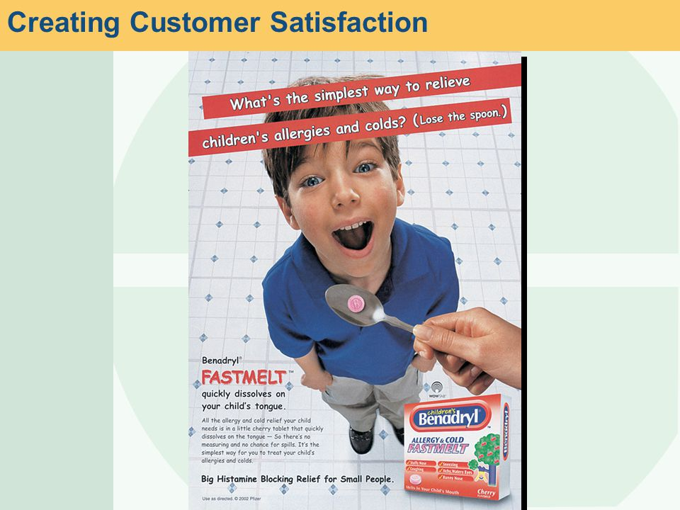 Creating Customer Satisfaction