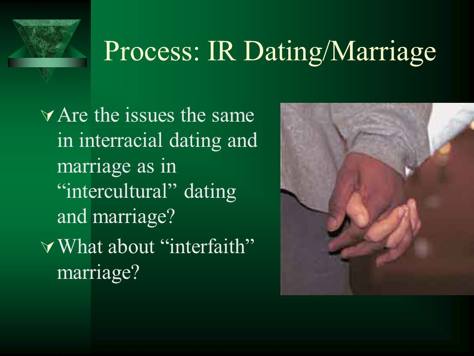 Process: IR Dating/Marriage
