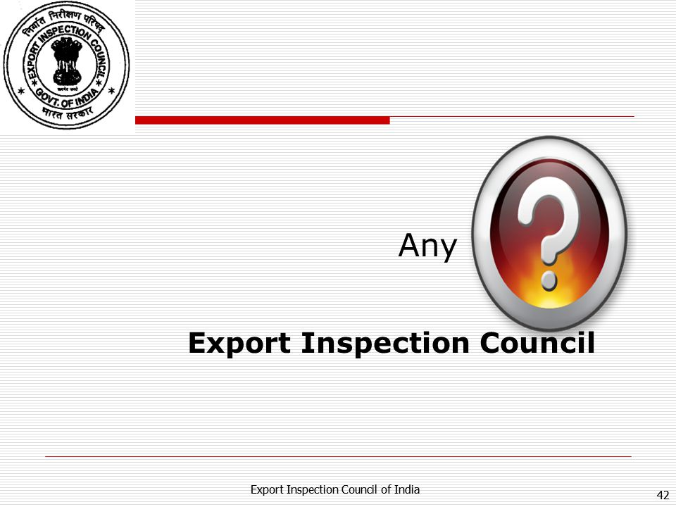Export Inspection Council