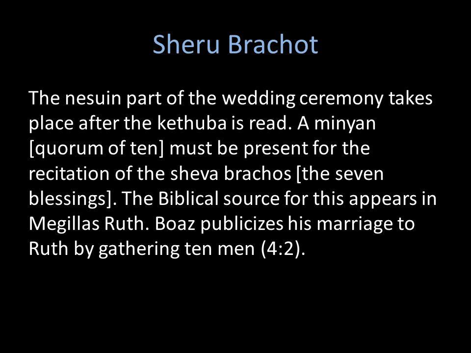 Sheru Brachot