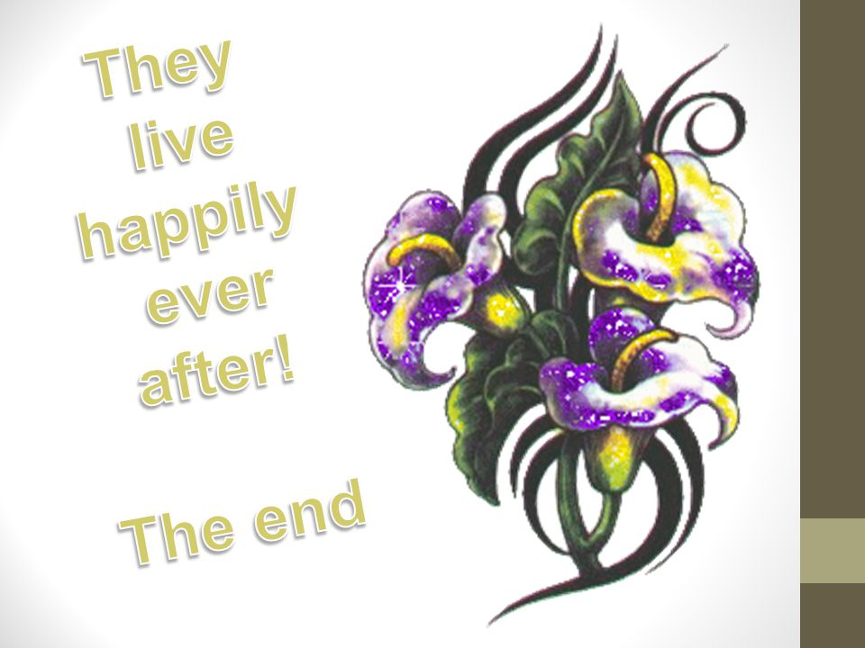 They live happily ever after! The end