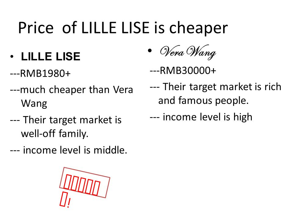 Price of LILLE LISE is cheaper