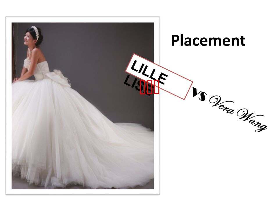Placement LILLE LISE won VS Vera Wang