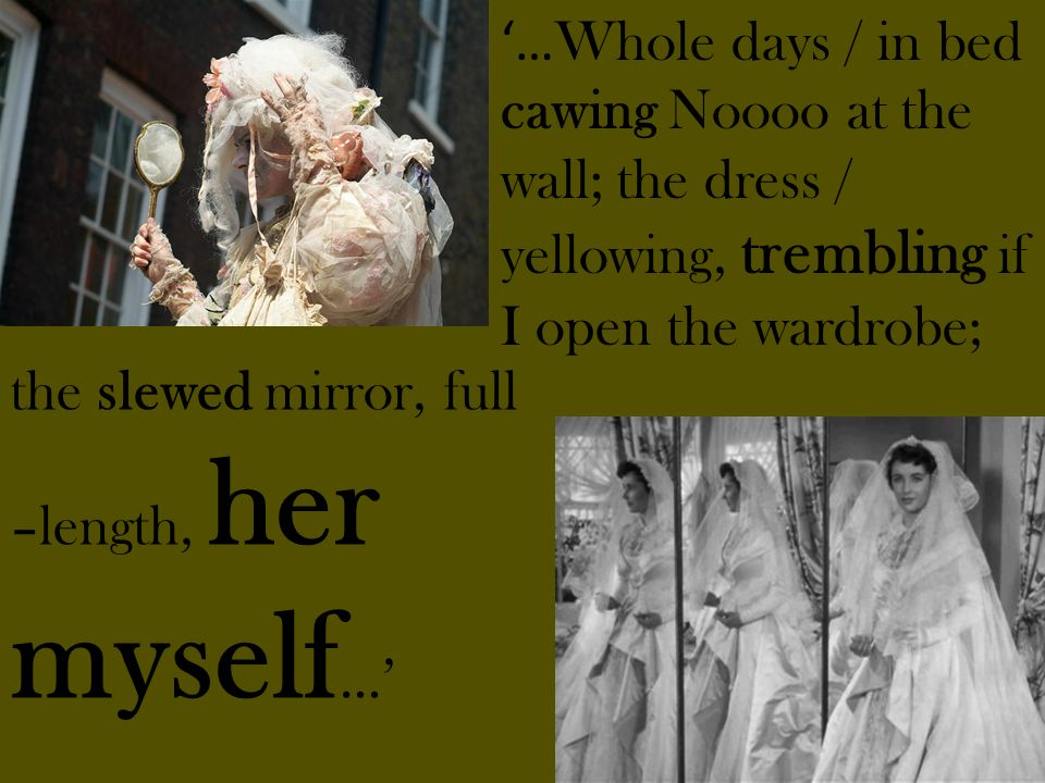 '…Whole days / in bed cawing Noooo at the wall; the dress / yellowing, trembling if I open the wardrobe;