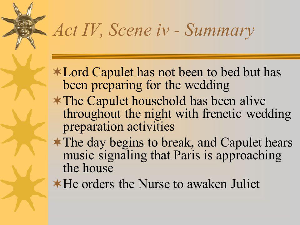 Act IV, Scene iv - Summary
