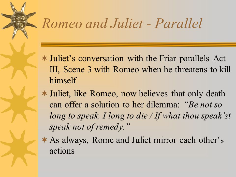 Romeo and Juliet - Parallel