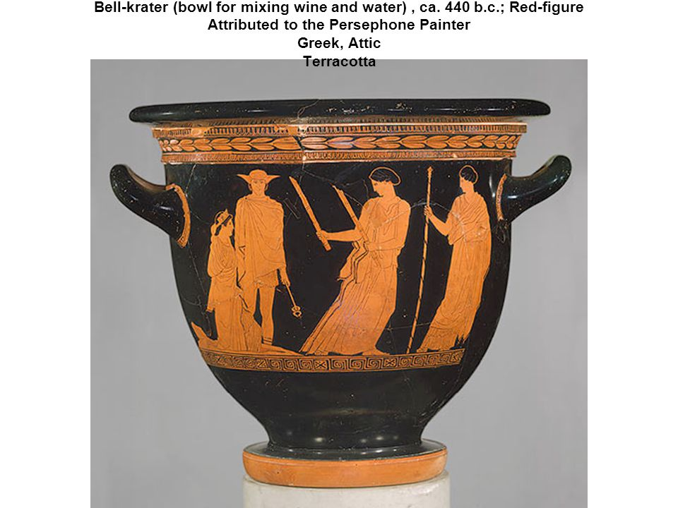Bell-krater (bowl for mixing wine and water) , ca. 440 b. c
