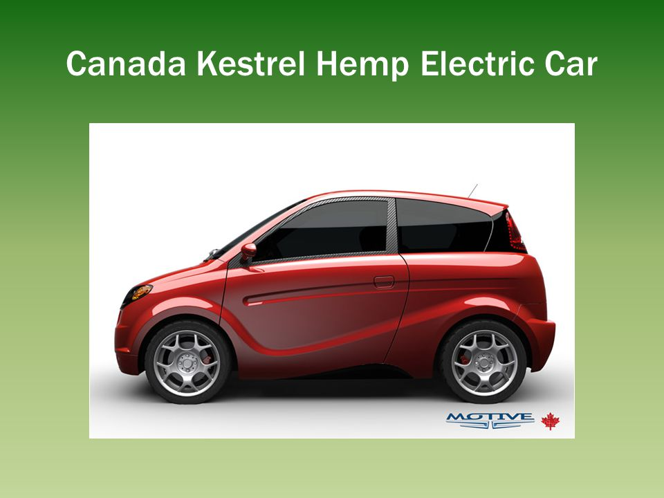 Canada Kestrel Hemp Electric Car
