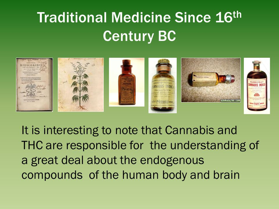 Traditional Medicine Since 16th Century BC