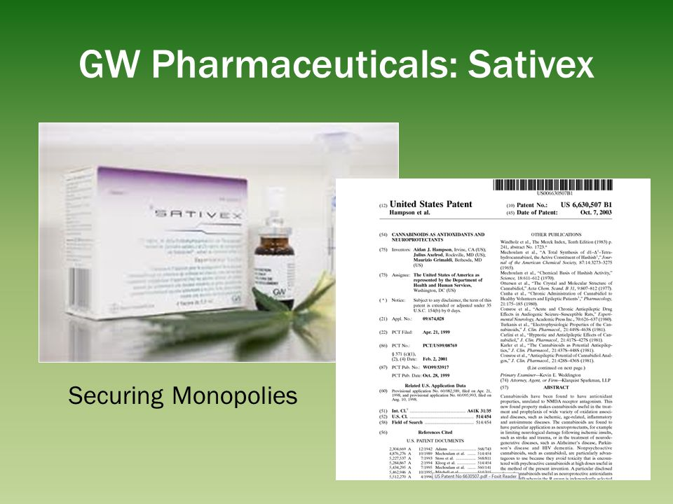 GW Pharmaceuticals: Sativex