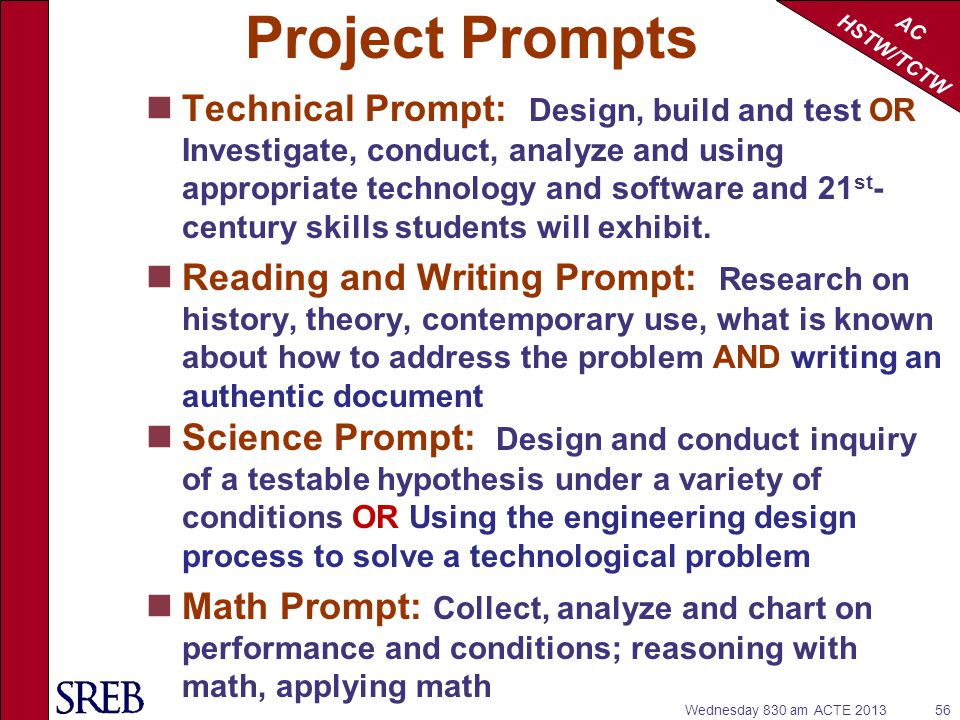 Project Prompts