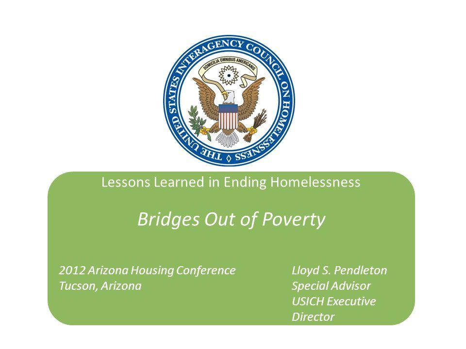 Lessons Learned in Ending Homelessness