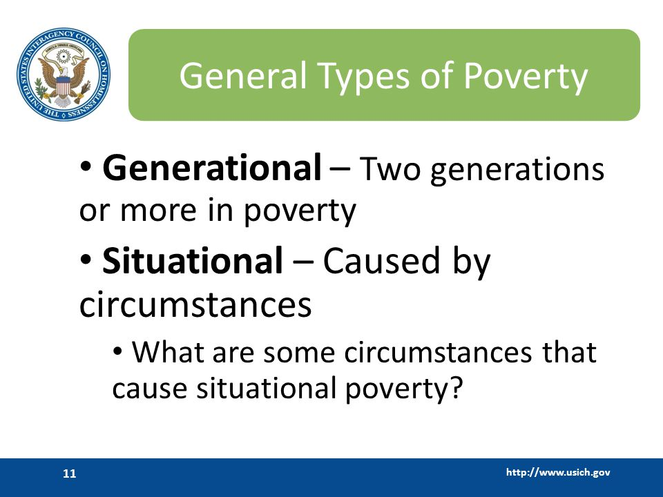 General Types of Poverty