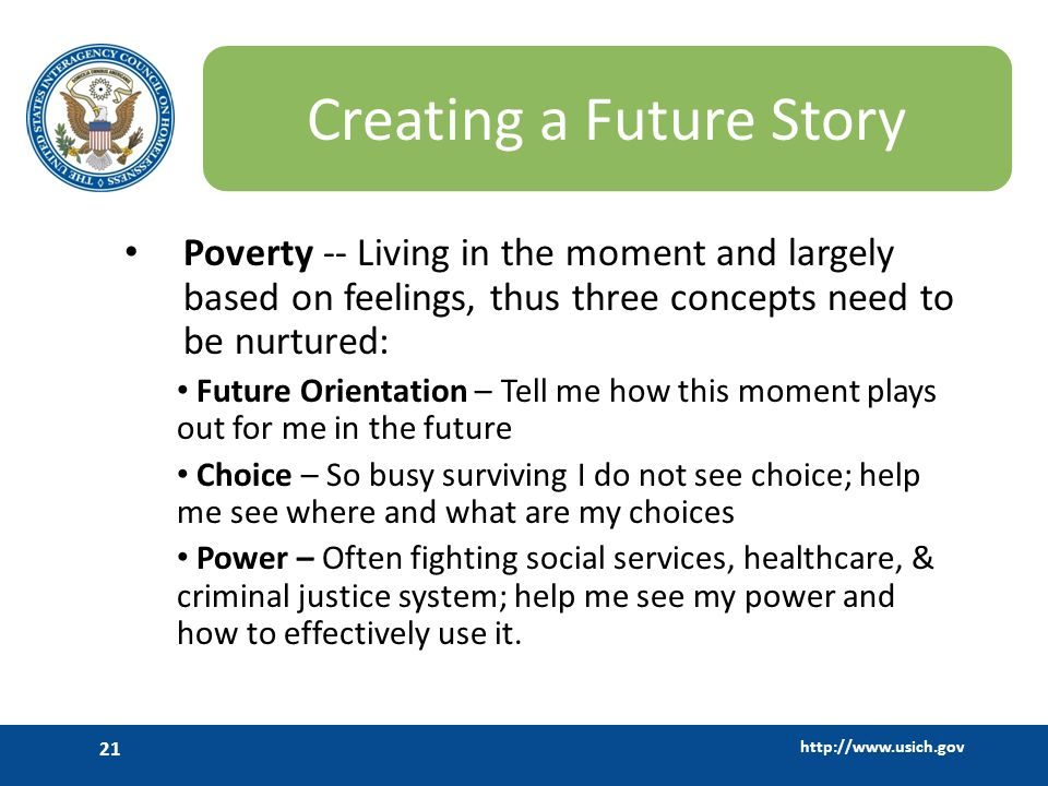 Creating a Future Story
