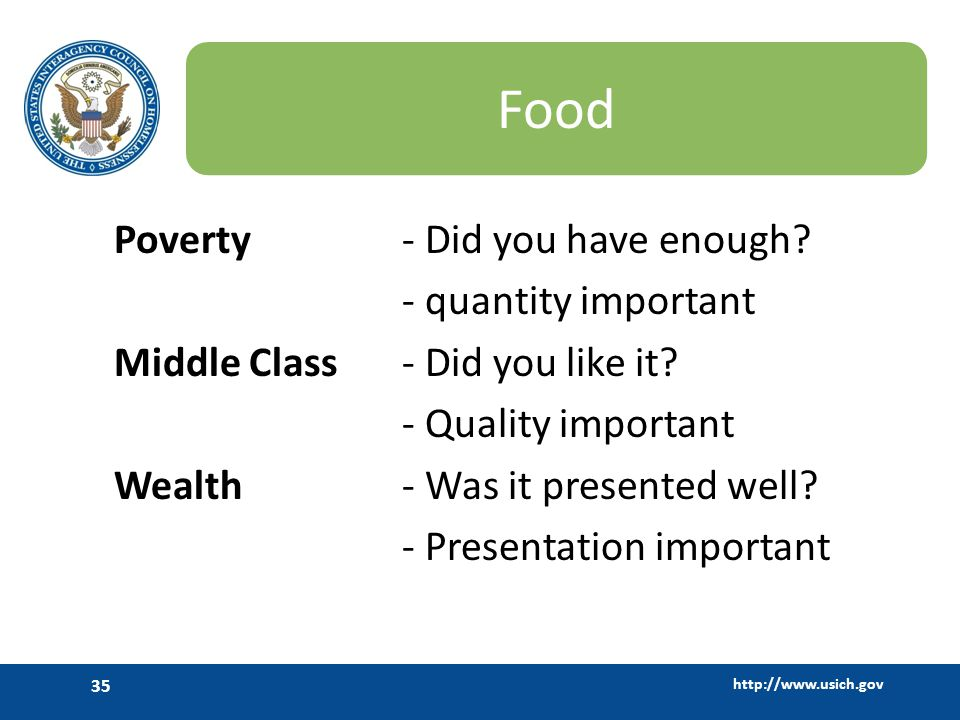 Food Poverty - Did you have enough - quantity important