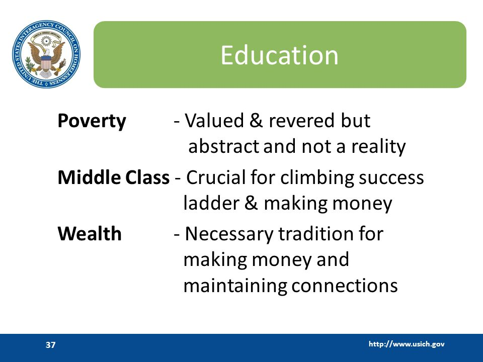 Education Poverty - Valued & revered but abstract and not a reality