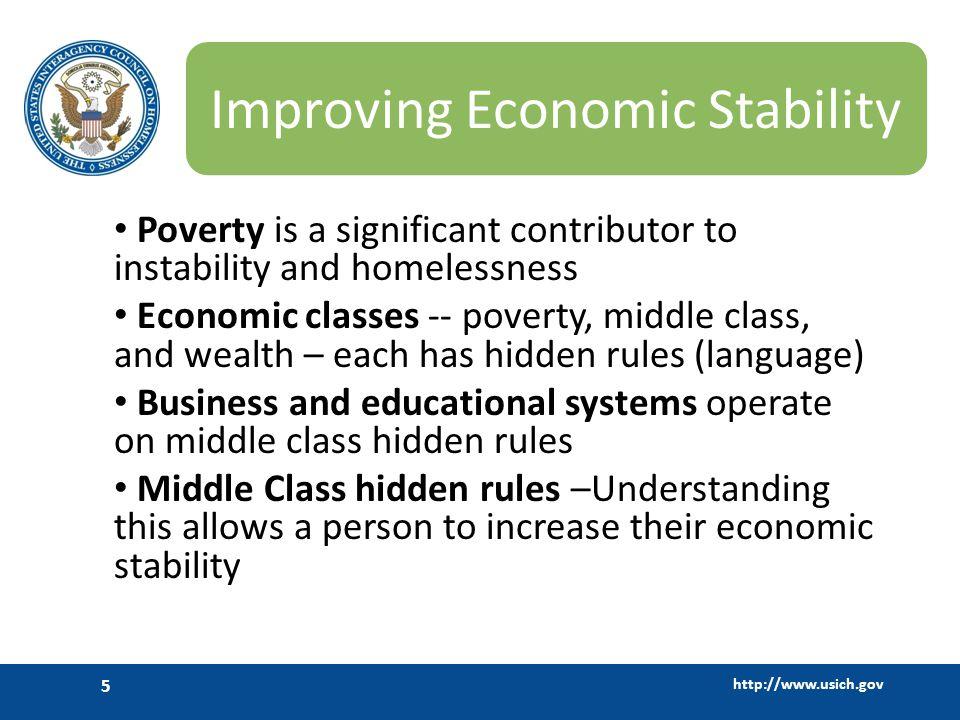 Improving Economic Stability
