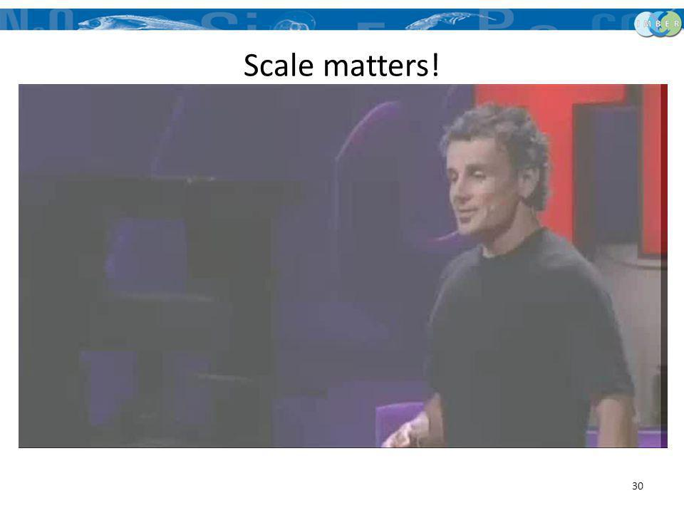 Scale matters!